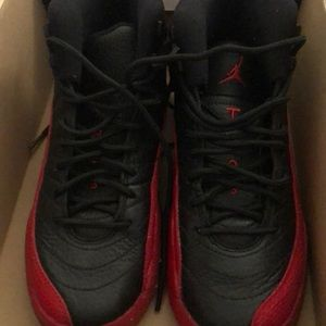 Jordan size 4 retro12 flu  game